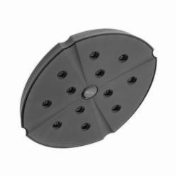 DELTA® RP61274RB Addison™ Raincan Shower Head, 2.5 gpm, 1 Spray, Wall Mount, 8-3/16 x 2-3/4 in Head, Domestic