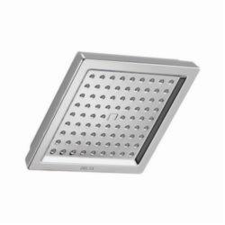 DELTA® RP62283 Dryden™ Raincan Shower Head, 2.5 gpm, 1 Spray, Wall Mount, 3-1/8 x 6-9/16 in Head, Domestic