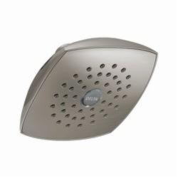 DELTA® RP64859SS Universal Raincan Shower Head, 2 gpm, 1 Spray, 5-1/4 x 2-3/4 in Head, Import