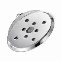 DELTA® RP70173 Universal Raincan Shower Head, 2 gpm, 1 Spray, Wall Mount, 3 x 6-1/2 in Head, Domestic
