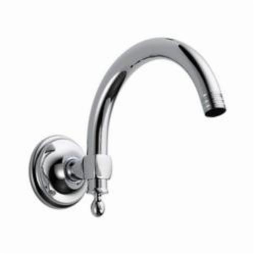 Brizo® RP70909PC Charlotte® Shower Arm and Flange, 8 in L Arm, 1/2 in NPT, Domestic