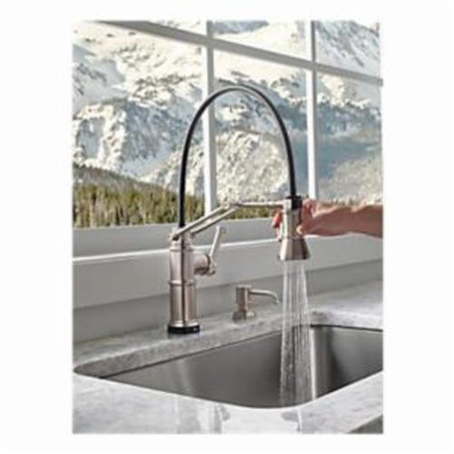Brizo® RP75675SS Artesso® Traditional Soap/Lotion Dispenser, 15 oz Bottle, Deck Mount, Domestic