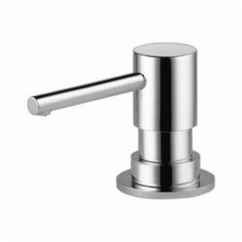Brizo® RP79275PC Solna® Contemporary Soap/Lotion Dispenser, 13 oz Bottle, Deck Mount