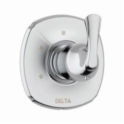 DELTA® T11892 2-Port 3-Setting Diverter Trim, Hand Shower Yes/No: No, Chrome Plated