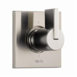 DELTA® T11953-SS 3-Port 6-Setting Diverter Trim, Hand Shower Yes/No: No, Brilliance® Stainless Steel