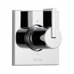 DELTA® T11953 3-Port 6-Setting Diverter Trim, Hand Shower Yes/No: No, Chrome Plated