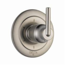 DELTA® T11959-SS 3-Port 6-Setting Diverter Trim, Hand Shower Yes/No: No, Brilliance® Stainless Steel