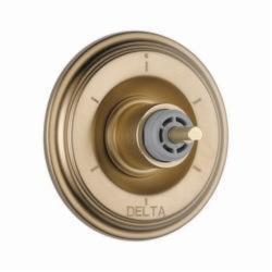 DELTA® T11997-CZLHP 3-Port 6-Setting Diverter Trim, Hand Shower Yes/No: No, Brilliance® Champagne Bronze
