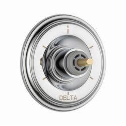 DELTA® T11997-LHP 3-Port 6-Setting Diverter Trim, Hand Shower Yes/No: No, Chrome Plated