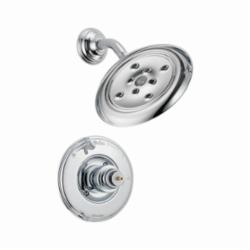 DELTA® T14255-H2OLHP Monitor® 14 Shower Trim, 1.75 gpm Shower, Hand Shower Yes/No: No, Chrome Plated