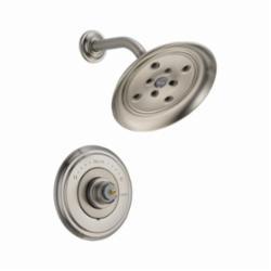 DELTA® T14297-SSLHP Monitor® 14 Shower Trim, 1.75 gpm Shower, Hand Shower Yes/No: No, Stainless Steel