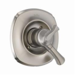 DELTA® T17092-SS Monitor® 17 Addison™ Valve Trim, 2 gpm Shower, Stainless Steel