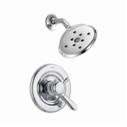 DELTA® T17238-H2O Monitor® 17 Lahara® Shower Trim, 1.75 gpm Shower, Hand Shower Yes/No: No, Chrome Plated