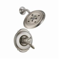 DELTA® T17255-SSH2O Monitor® 17 Victorian® Shower Trim, 1.75 gpm Shower, Hand Shower Yes/No: No, Stainless Steel