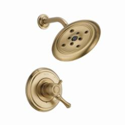 DELTA® T17297-CZ Monitor® 17 Shower Trim, 1.75 gpm Shower, Hand Shower Yes/No: No, Champagne Bronze