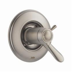 DELTA® T17T038-SS TempAssure® 17T 2-Function Valve Trim, 2.5 gpm Shower, Stainless Steel