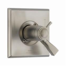 DELTA® T17T051-SS TempAssure® 17T 2-Function Valve Trim, 2.5 gpm Shower, Stainless Steel
