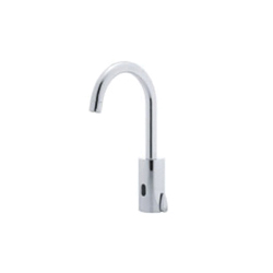 DELTA® DEMD-211LF HDF® Electronic Lavatory Faucet With Mixer Handle, 0.5 gpm, Chrome Plated, (6) Battery, Import, Commercial