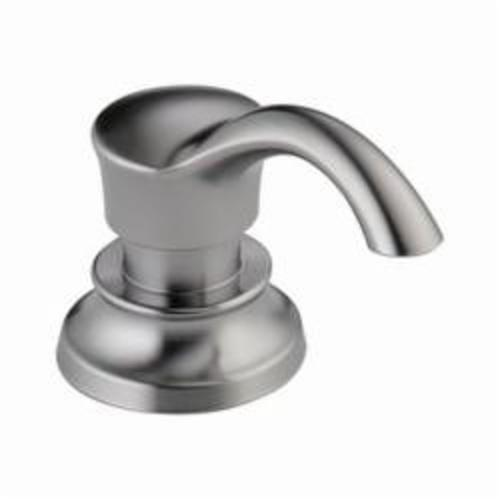 DELTA® RP71543-AR Cassidy™ Soap/Lotion Dispenser, 13 oz, Deck Mount, Brass, Arctic™ Stainless Steel