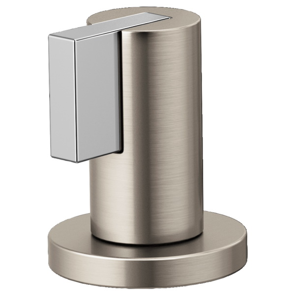 Brizo® HL5332-NKPC Litze™ Two Lavatory Faucet Lever Handle Kit, Luxe Nickel/Polished Chrome, Import