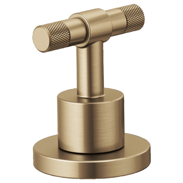 Brizo® HL5333-GL Litze™ Two Lavatory Faucet T-Lever Handle Kit, Luxe Gold, Import