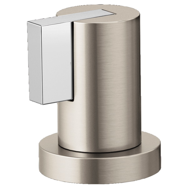 Brizo® HL632-NKPC Litze™ Two Roman Tub Lever Handle Kit, Luxe Nickel/Polished Chrome, Import