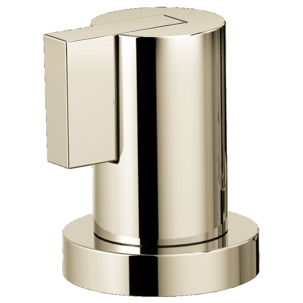 Brizo® HL632-PN Litze™ Two Roman Tub Lever Handle Kit, Polished Nickel, Import