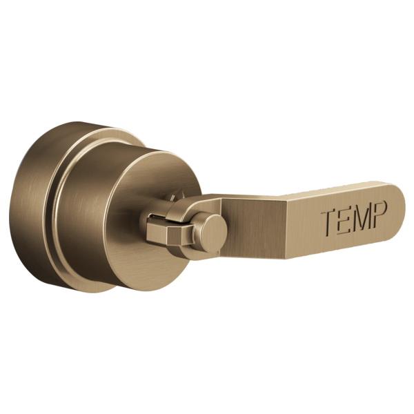 Brizo® HL6634-GL Litze™ SENSORI® Single Thermostatic Shutoff Lever Handle Kit, Luxe Gold, Import