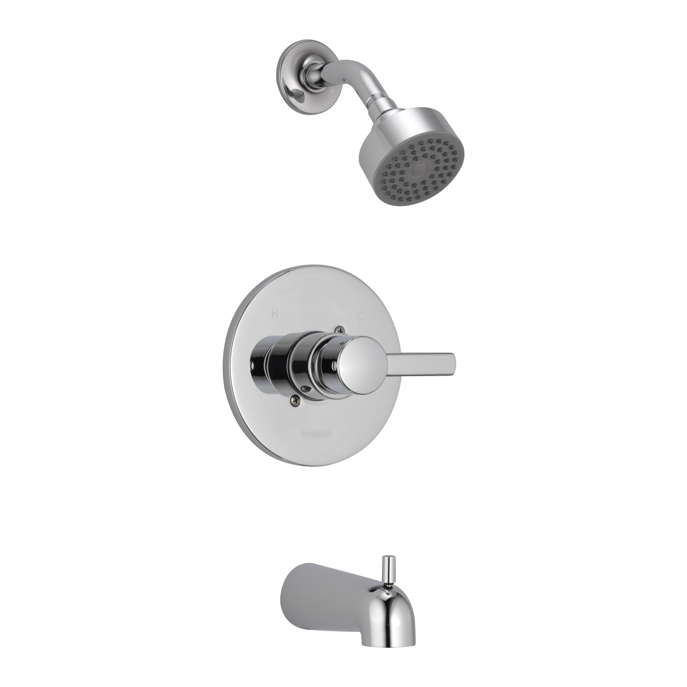 Consolidated Supply Co Peerless By Delta Ptt188792 Tub And Shower Trim Kit 1 75 Gpm Shower Hand Shower Yes No No Chrome Plated