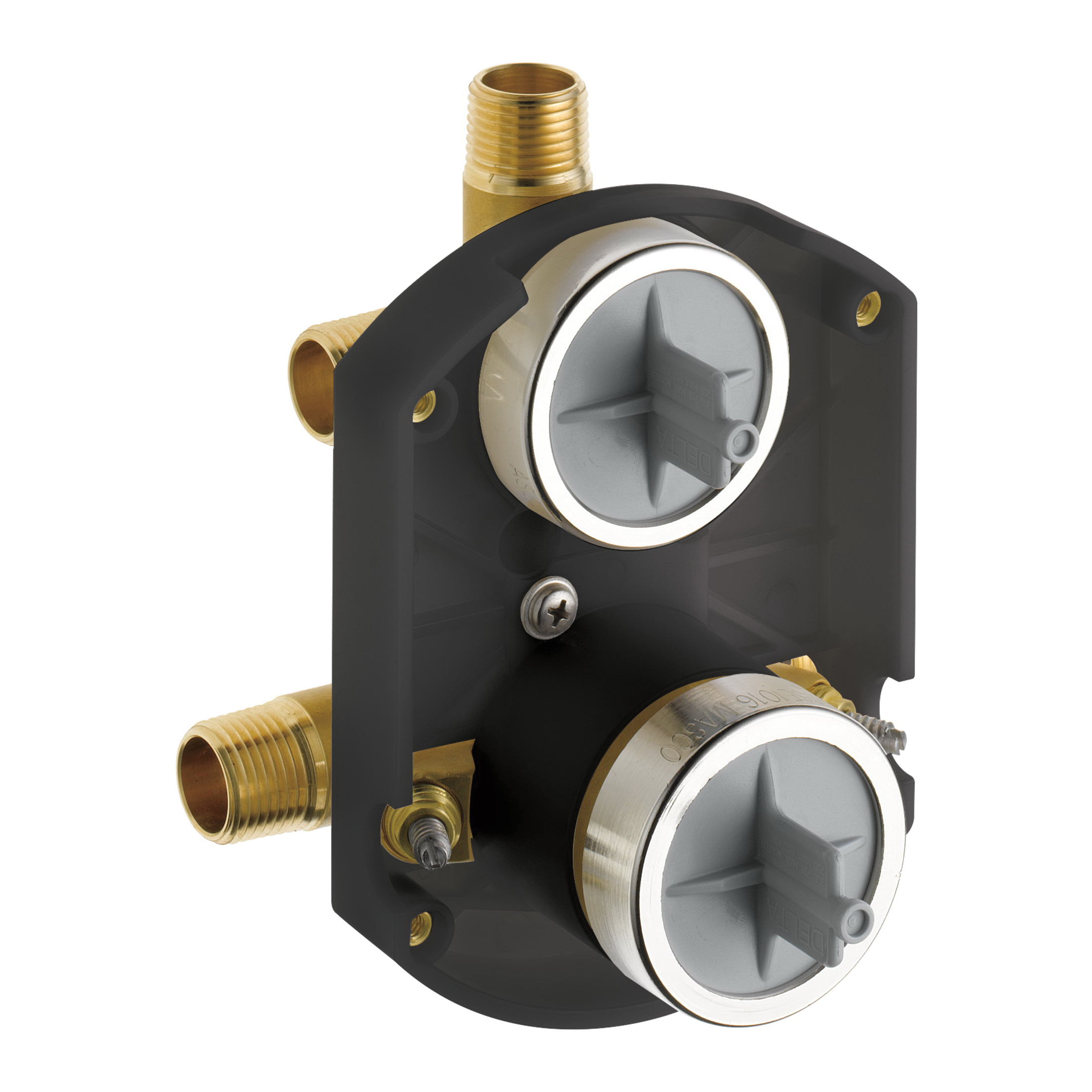 DELTA® R22000-WS MultiChoice® Universal Diverter Rough-In Valve, Forged Brass Body, Domestic