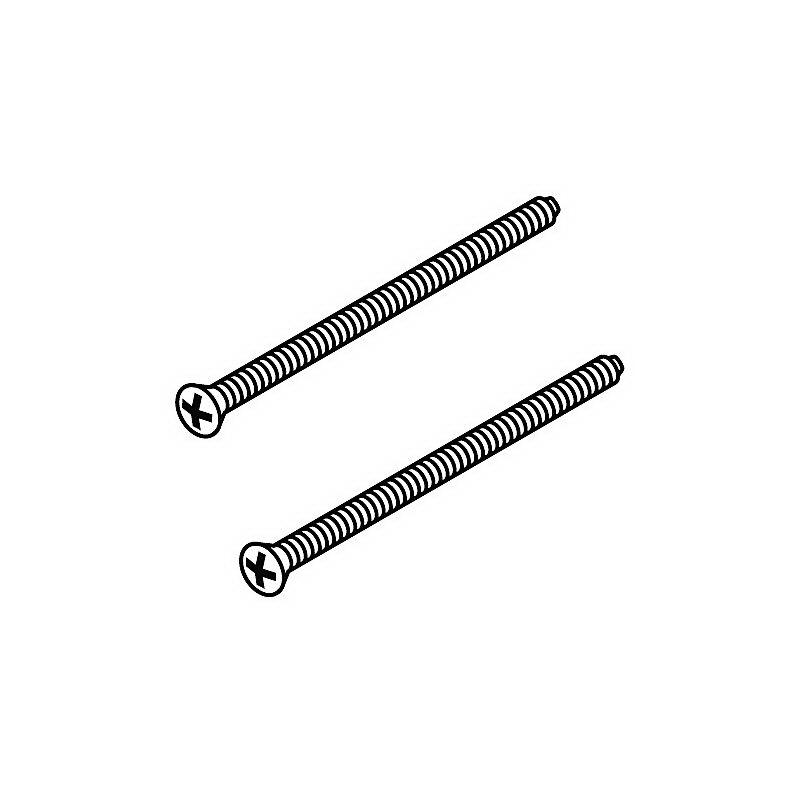 Brizo® RP196BB Escutcheon Trim Screw, Steel