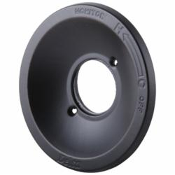 DELTA® RP21633RB Deep Escutcheon, For Use With 1300, 1400 and 1700 Series Tub and Showers, 8 in L x 3-1/2 in H x 7-1/2 in W, Venetian Bronze, Domestic