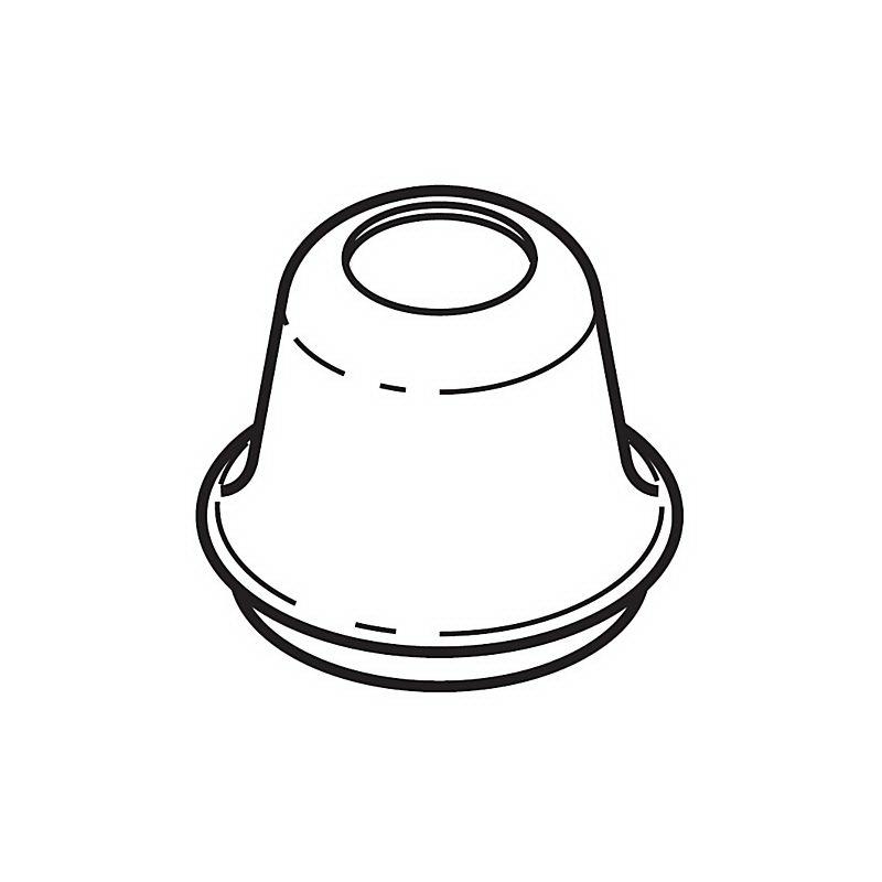 Brizo® RP23610PN Shroud, Polished Nickel