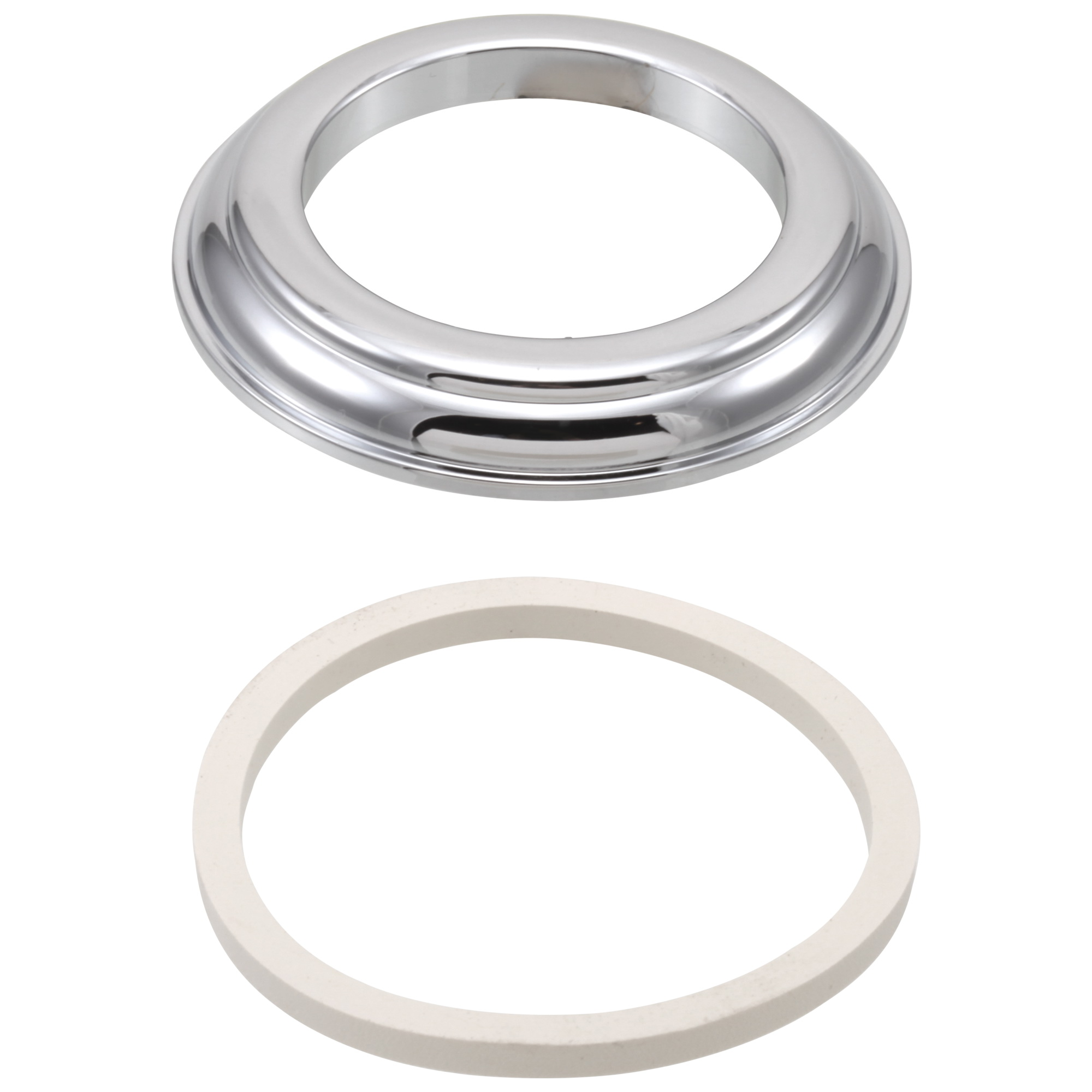 Brizo® RP23611 Base With Gasket, Chrome Plated
