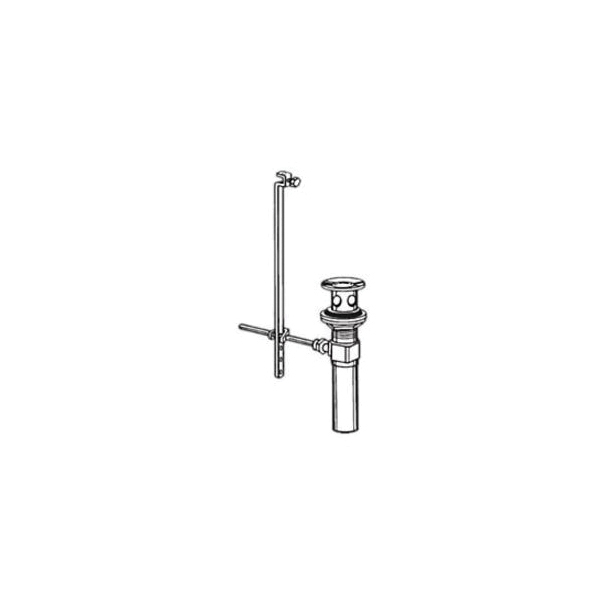 Brizo® RP28653PN Complete Pop-Up Assembly, Polished Nickel, Import