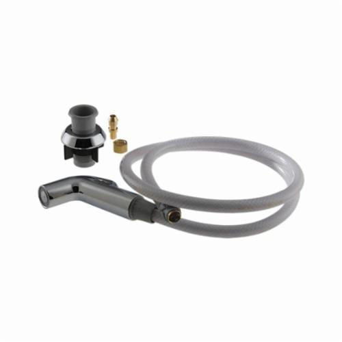 DELTA® RP31612 Spray and Hose Assembly, For Use With Classic and Signature® 1-Handle Kitchen Faucet, Plastic Hose, Chrome Plated Head, Domestic