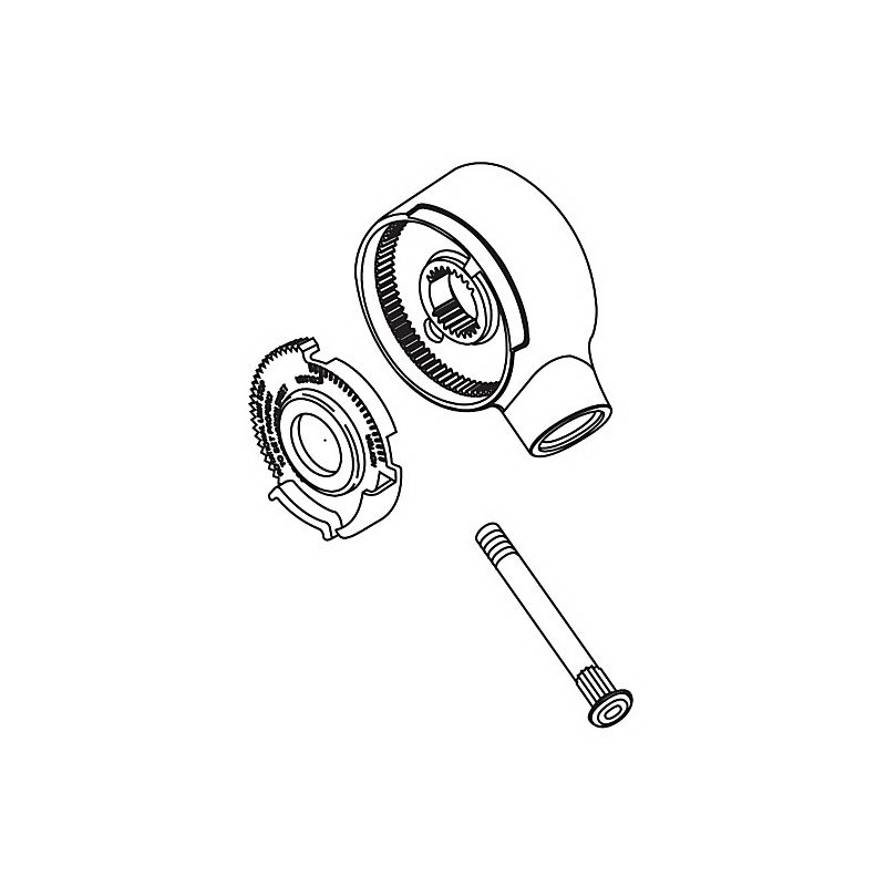 Brizo® RP32103BB 17 Series Single Lever Handle Kit, Metal, Brass, Import