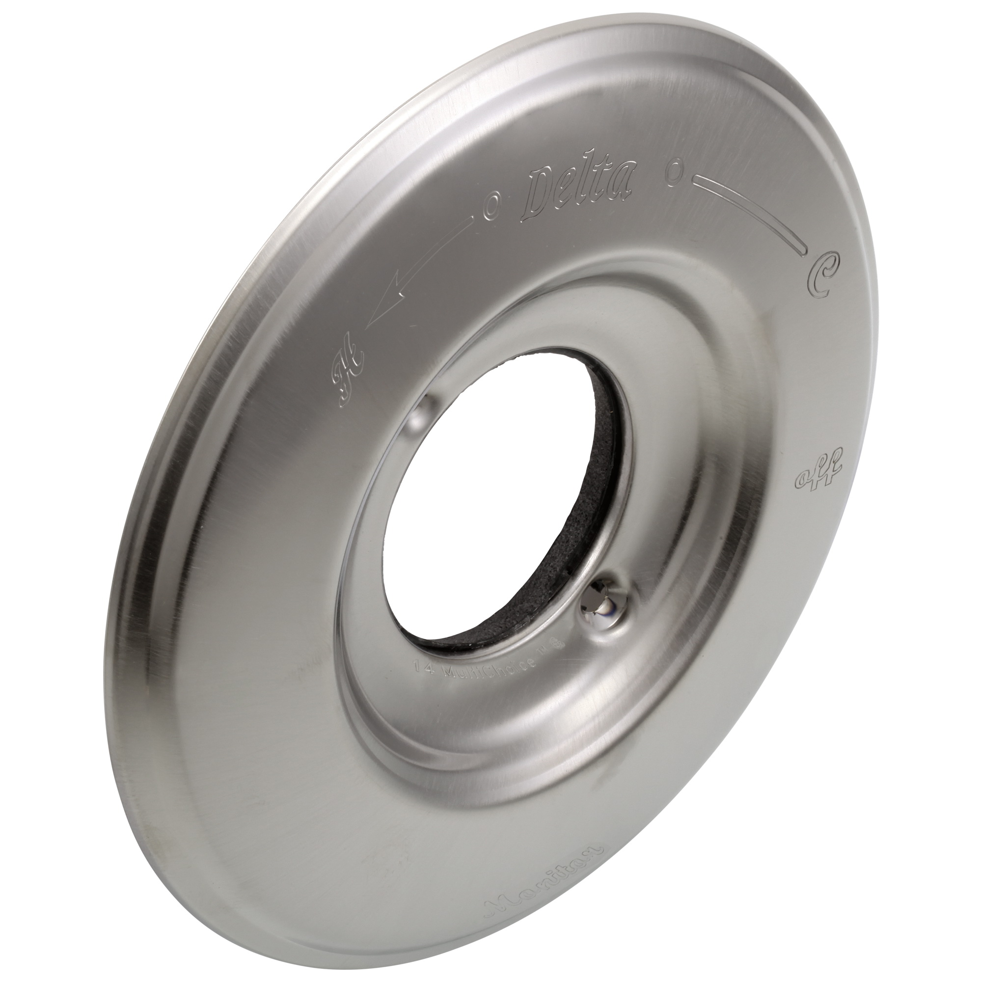DELTA® RP34353SS 14 Series Escutcheon, Stainless Steel, Domestic