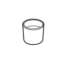 DELTA® RP40663BL Conical Nut, Matte Black, Domestic
