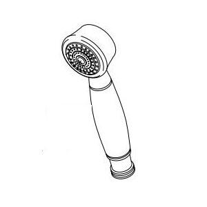 Brizo® RP42358-PN Vesi® Roman Tub Hand Shower Wand, 2 gpm, Polished Nickel, Import