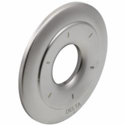 DELTA® RP42413SS Victorian® Escutcheon, For Use With 6-Setting Diverter, Stainless Steel, Import