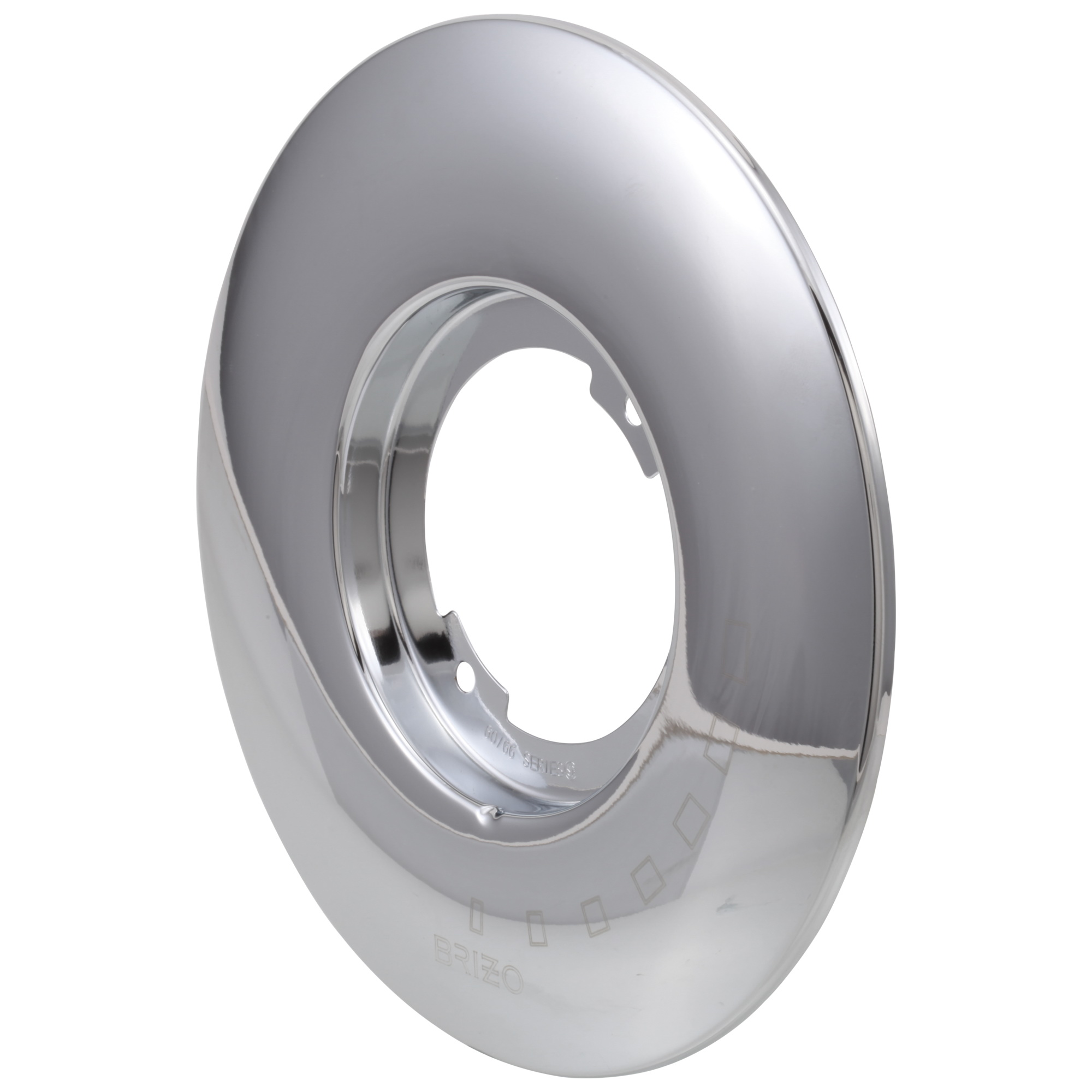 Brizo® RP49346PC RSVP® Tub and Shower Escutcheon, Chrome Plated, Import