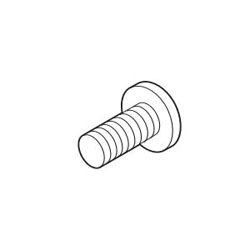 Brizo® RP50678BN RSVP® Light Shade Thumb Screw, For Use With Model 69970 Light Fixture, Brilliance® Brushed Nickel, Import