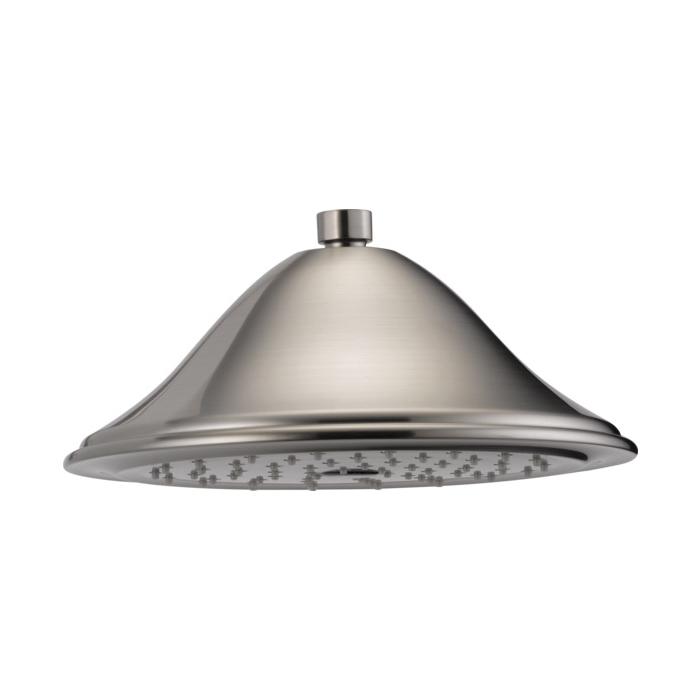 Brizo® RP52090NK Tresa® Traditional Raincan Shower Head, 2.5 gpm, 1 Spray, Ceiling Mount, Import