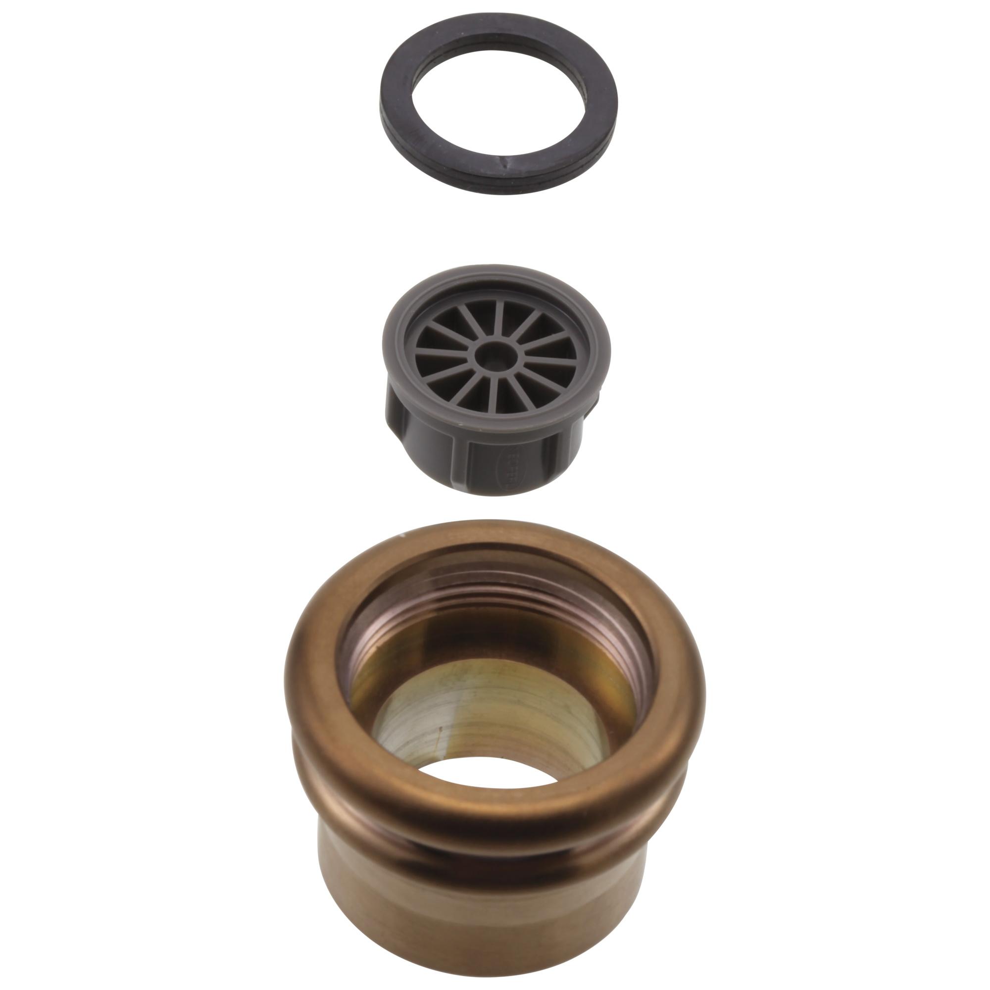 Brizo® RP52433BZ Tresa® Roman Tub Stream Straightener, Brushed Bronze
