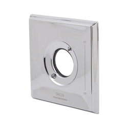 DELTA® RP52583SP Dryden™ Escutcheon, For Use With Dryden™ TempAssure® 17T Series T17T051, T17T251, T17T251-WE and T17T451 Shower Trim, SpotShield® Stainless Steel, Import