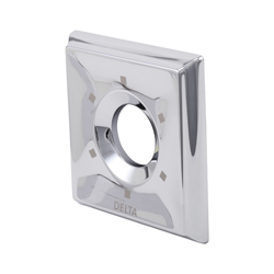 DELTA® RP52594SP Dryden™ 6-Setting Escutcheon, For Use With Dryden™ T11800, T11851, T11853 and T11855 2-Port Diverter Trim, SpotShield® Stainless Steel, Import