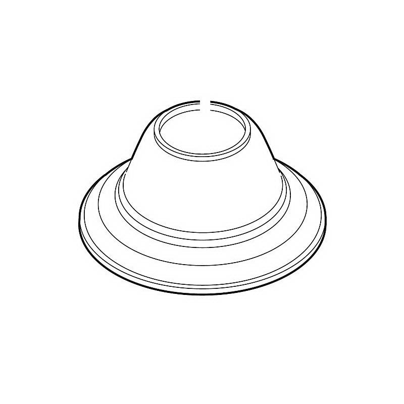 Brizo® RP52940BZ Tresa® Roman Tub Handle Base, Brilliance® Brushed Bronze
