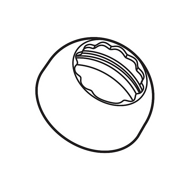 Brizo® RP60116BL Venuto® Bonnet Cap