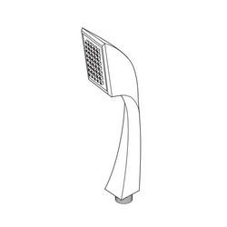 DELTA® RP62451-BZ Virage® Hand Held Shower, (1) Shower Head, 2 gpm, 1/2-14 NPSM, Brilliance® Brushed Bronze, Import